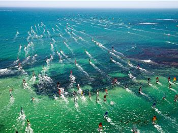 True Windsurfing Conditions for Ledge to Lancelin Marathon. - Windsurfing News