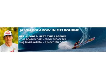 Jason Palokow in Melbourne with Core & SHQ Boardsports - Windsurfing News