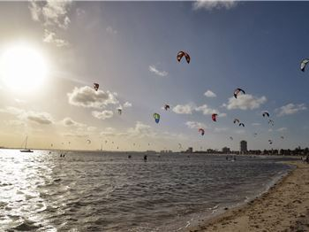Victorian Kiteboarders Ramp Up For NKL in Melbourne - Kitesurfing News