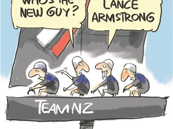 Team NZ Pedal Towards Americas Cup Win. Literally! - Sailing News