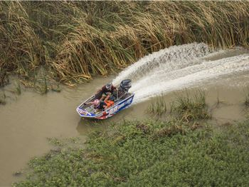 Insane Tinnie Racing on the Murray River - Power Boats News