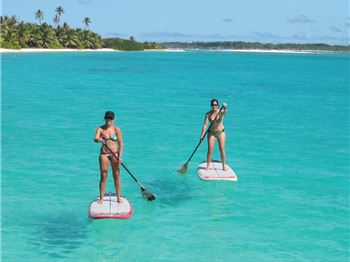 Zephyr SUP Tours go paddling in the Cocos Keeling Attol - Stand Up Paddle News