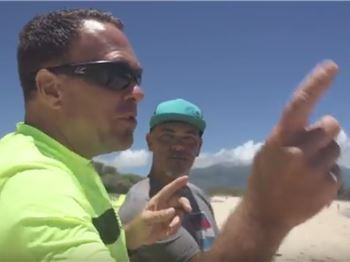 Behind the Scenes Testing with Cabrinha's Pat Goodman. - Kitesurfing News