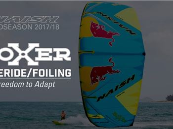 Naish Bring Back a Legend - The Boxer is Back! - Kitesurfing News