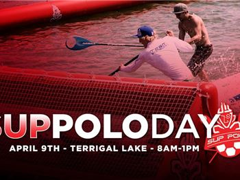SUP Polo coming to Terrigal Lakes - Try it out!