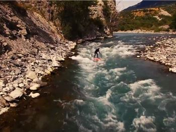 Breathtaking Whitewater SUP in the French Alps!