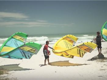 Christmas Themed Suits, Fireworks & Kite Loops in Cape Town! - Kitesurfing News