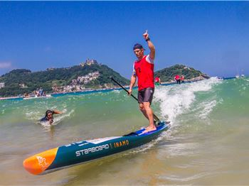 Michael Booth Wins Euro Tour SUP Championship!