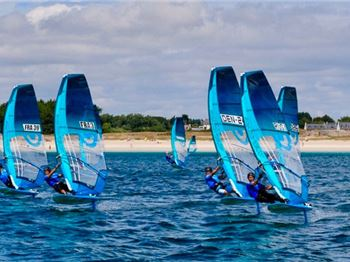 First Event Success for the RS:Convertible Foiling Class