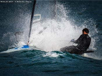 Insane Conditions at the Moth Worlds on Lake Garda! - Sailing News