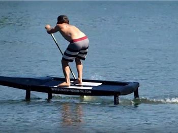 A SUP foil board for Racing - No pumping required! - Stand Up Paddle News