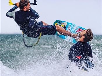 Behind The Scenes: A Kiteboarding Product Shoot - Kitesurfing News