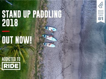 Go-Fast Flat Water SUPS for Fanatic in 2018 - Stand Up Paddle News