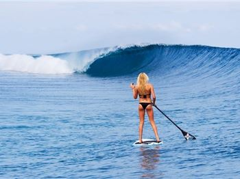 It's Bikini time! Tips for keeping a bikini ON in the surf! - Stand Up Paddle News