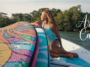Art You Can Ride - Starboard's new Tikhine Inflatables - Stand Up Paddle News