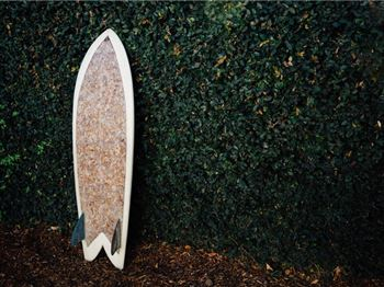Surfboard made from 10,000 Cigarette Butts - Surfs Great! - Surfing News