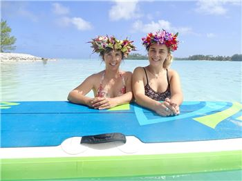 Mother/Daughter Quality Time - How about a SUP YOGA Retreat? - Stand Up Paddle News