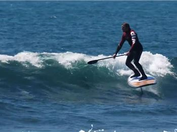 SUP Foiling for Beginners - Stand Up Paddle News