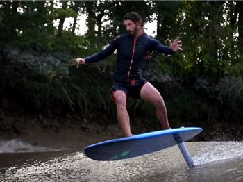 Going 'Foil' Bore - Foiling a Tidal Bore in France - Surfing News