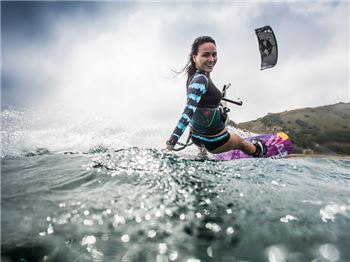 She's a role model. She's a lady. She's also the champion. - Kitesurfing News