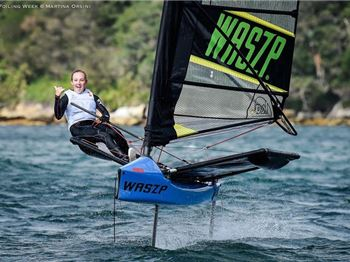 Harken gets kids into foiling, parents get driven nuts! - Sailing News