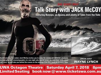 Jack McCoy and Wayne Lynch Talk Story Octagon theatre Perth - Surfing News