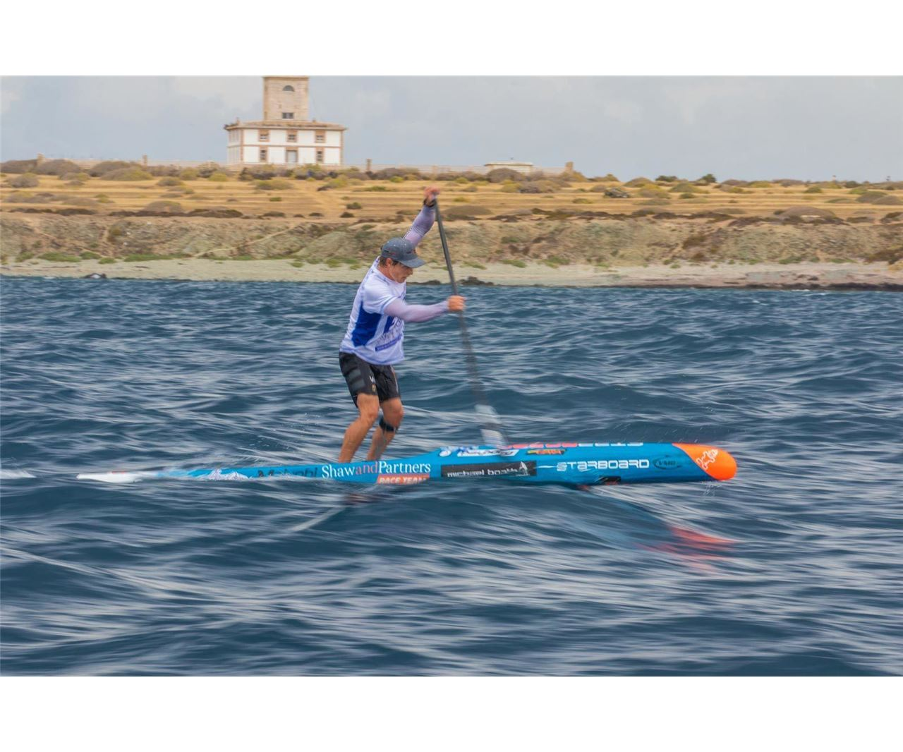 Starboard at the SUP Racing EuroTour