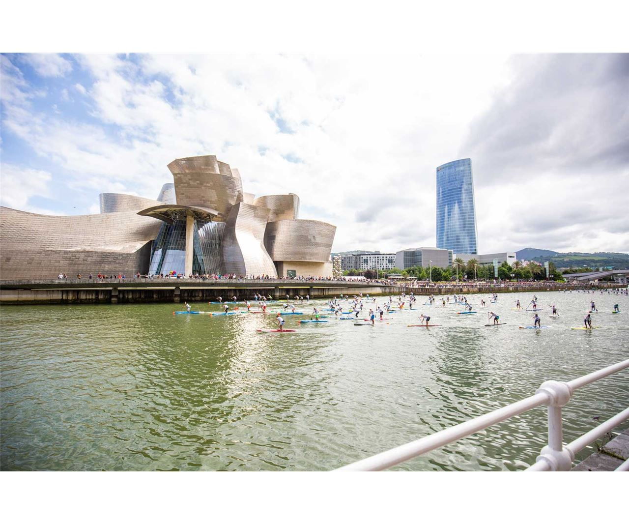 The Iberdrola Bilbao World SUP Challenge