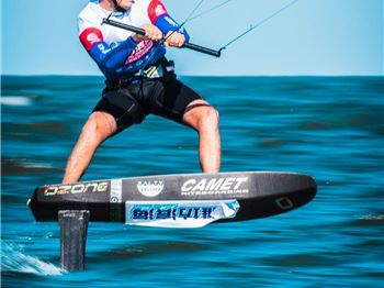 KiteFoil World Series in China  - Day 2 - Kitesurfing News