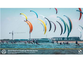 2018 Ika Kitefoil Goldcup World Series, Weifang - Day Four
