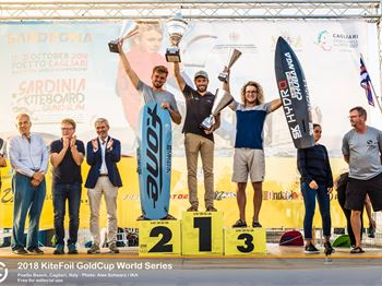 Nocher Crowned at KiteFoil World Series Final - Kitesurfing News