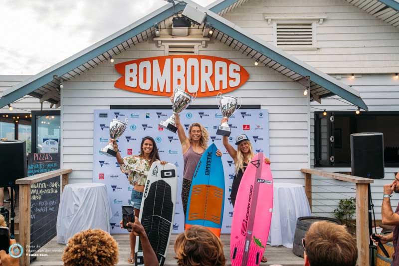 Women's GKA Tour podium