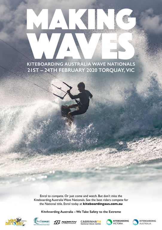 Australian Kiteboarding Wave Nationals are in February