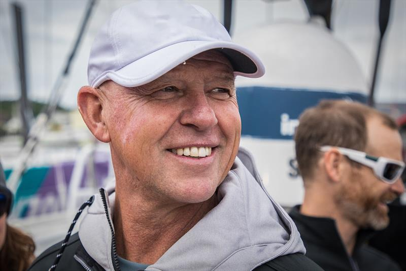 Bruno Dubois, newly appointed Team Manager of the France SailGP Team.