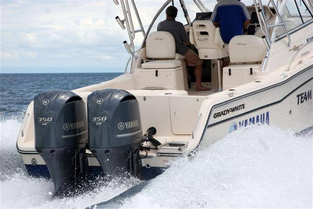 yamaha 350 outboard. two separate vessels powered by dual yamaha f350 v8 outboards have each received australian marine industry federation (amif) boat of the year awards for 350 outboard a