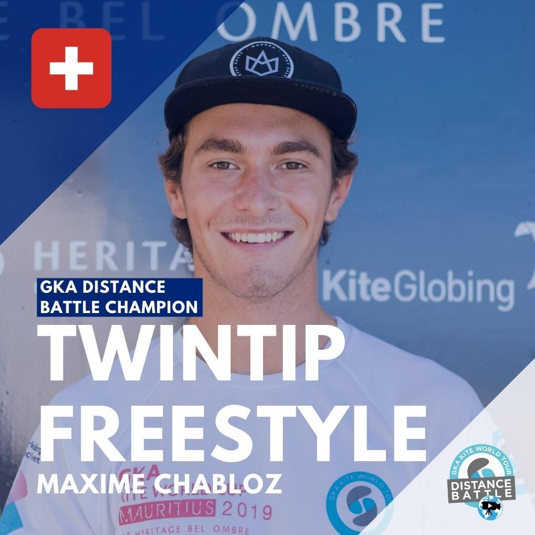 Maxime Chabloz takes out the Kitesurfing Distance Battle Title
