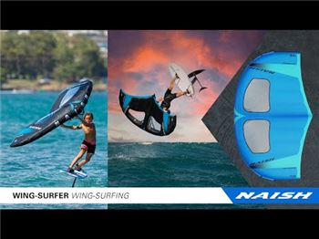 Naish release 3rd generation Wingsurfer