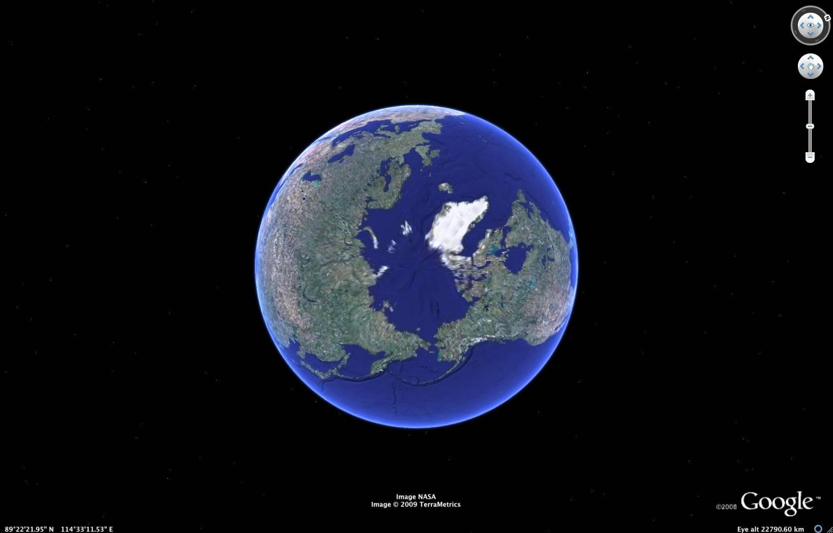 Greenland Icesheet Runoff Revealed... North%20pole