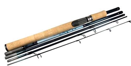Pflueger Wanderer Multi Piece Travel Rods Seabreeze