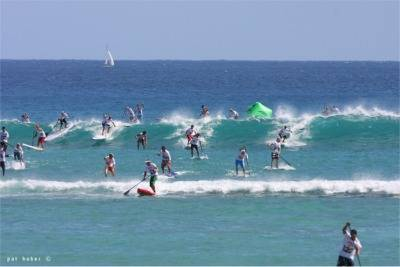 Stand Up Paddle Board Racing