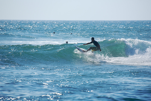Surfing To Kitesurfing