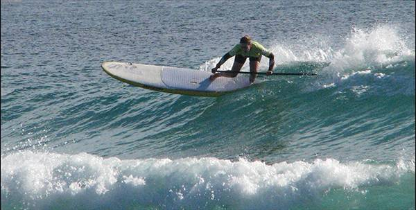 Stand Up Paddle - cutback