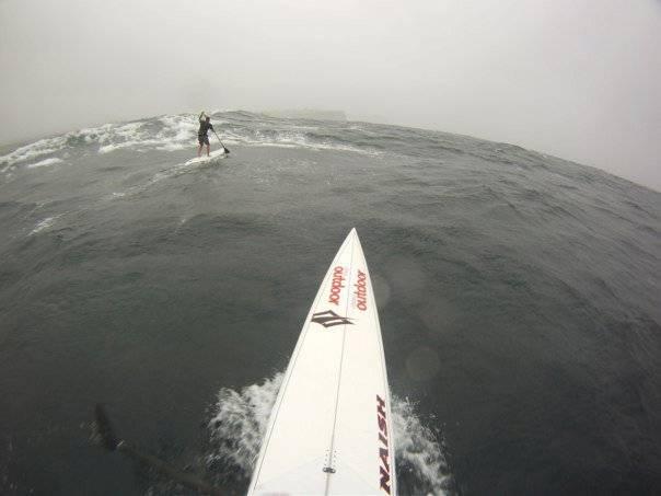down wind sup