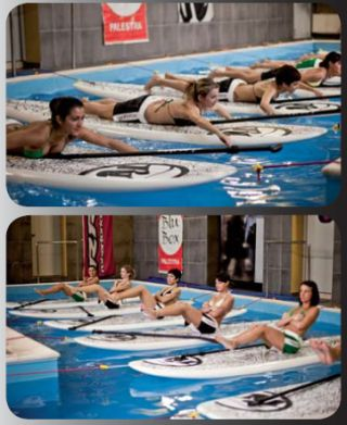 Rrd takes sup to the swimming pool seabreeze for Stand up pool