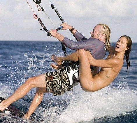 Branson girlfriend richard How Richard