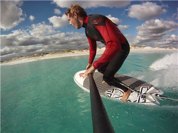 How To Stand Up Paddle Surf 101 - Bend the knees!