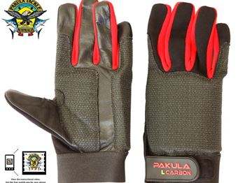 Products: Pakula Carbon Game Fishing Gloves - Fishing News