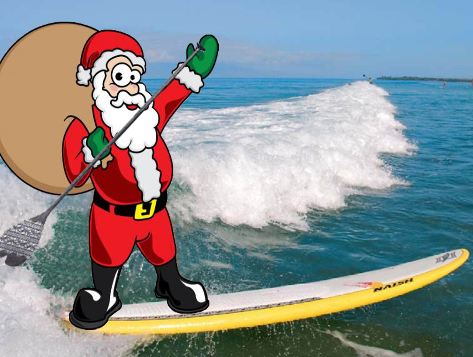 Christmas shopping for a stand up paddler seabreeze
