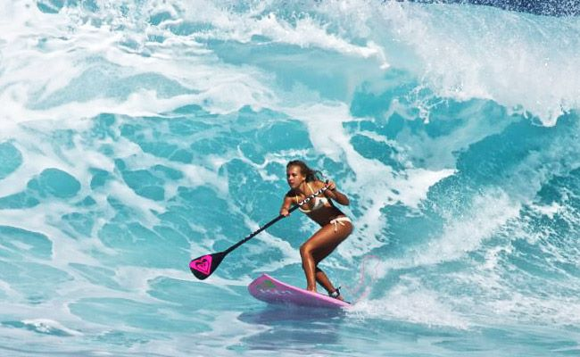 Vanina Walsh The New Poster Girl For Stand Up Paddling