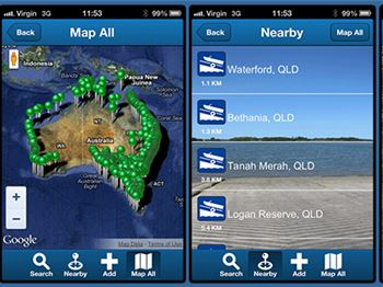 New Boat Ramp Finder App - Power Boats News